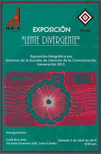 Lente Divergente @ Café 8vo Arte | San Luis Potosí | San Luis Potosí | México