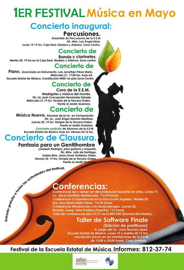 1 Festival de Musica en Mayo