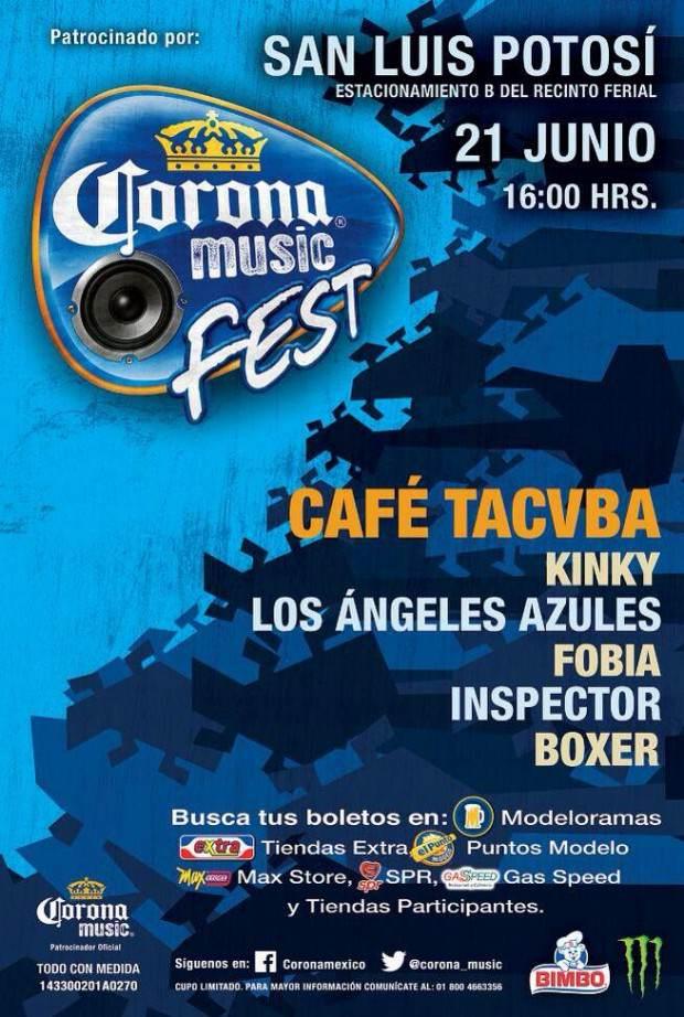 Corona Music Fest SLP 2014