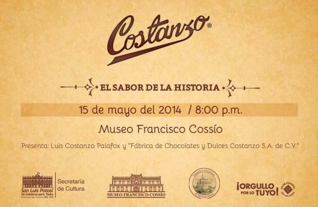 Conferencia Historia de los dulces Costanzo @ Museo Francisco Cossío | San Luis Potosí | San Luis Potosí | México
