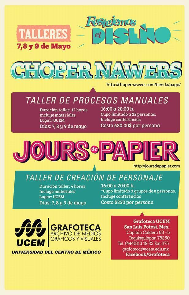 Festejemos el Diseño 2014 @ San Luis Potosí | San Luis Potosí | México