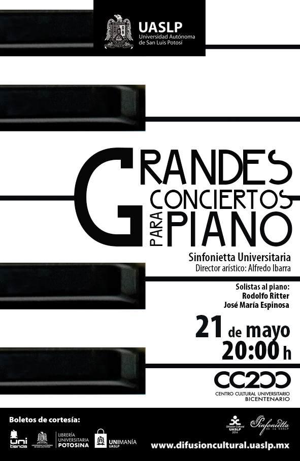 grande conciertos para piano
