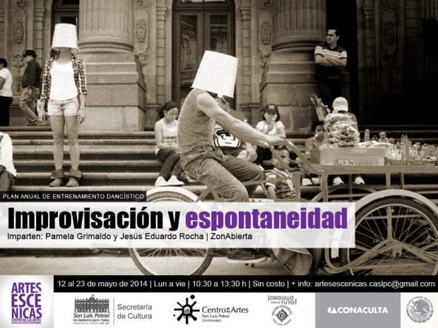 Improvisación y espontaneidad  @ Centro de las Artes de San Luis Potosí | San Luis Potosí | San Luis Potosí | México