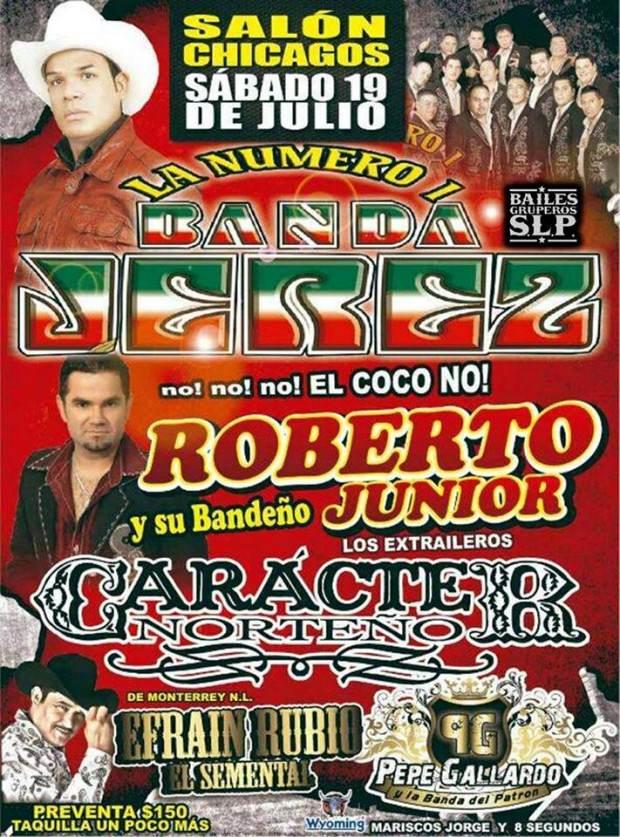 Banda Jerez Roberto Jr y su Bandeño