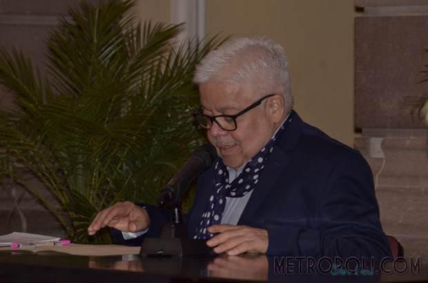 Enrique Márquez en el Centro Cultural Palacio Municipal