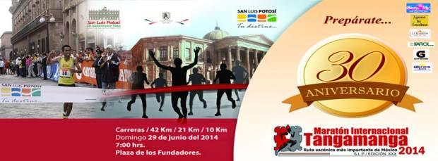 Maratón Internacional Tangamanga 2014