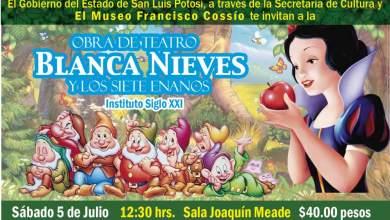Photo of Blanca nieves y los siete enanos se presenta nuevamente en el Museo Francisco Cossío