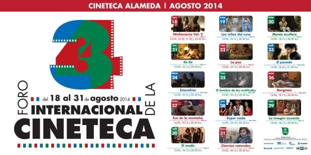 34 Foro Internacional de la Cineteca @ Cineteca Alameda | San Luis Potosí | San Luis Potosí | México