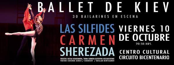 Ballet de Kiev en San Luis Potosí @ Centro Cultural Bicentenario | San Luis Potosí | San Luis Potosí | México