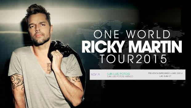 Ricky Martin en San Luis Potosí  @ El Domo | San Luis Potosí | San Luis Potosí | México