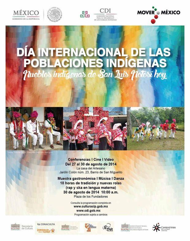 Día Internacional de las Poblaciones Indigenas en SLP @ Plaza de los Fundadores | San Luis Potosí | San Luis Potosí | México