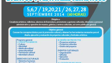 Photo of Seminario-taller de difusión para la organización de eventos  y festivales artísticos
