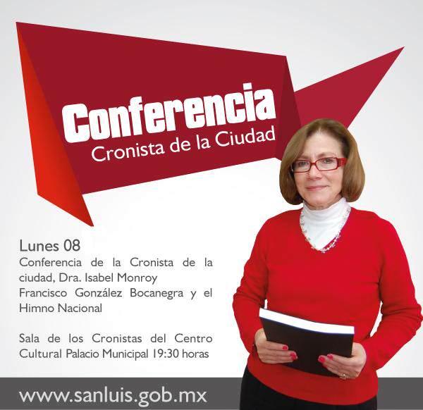Conferencia Cronista de la Ciudad @ Palacio Municipal  | San Luis Potosí | San Luis Potosí | México