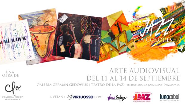 Jazz a colores @ Galeria Germán Gedoviuos de Teatro de la Paz | San Luis Potosí | San Luis Potosí | México