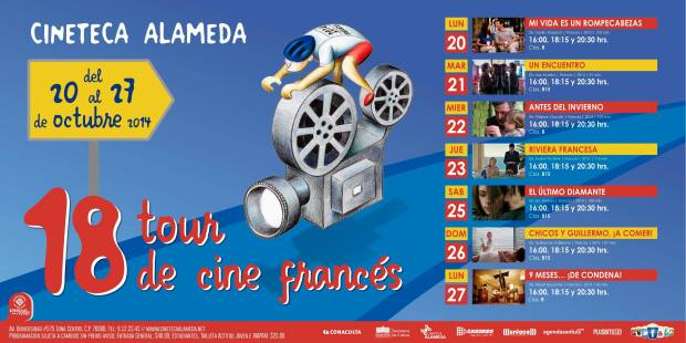 18 Tour de Cine Francés @ Cineteca Alameda | San Luis Potosí | San Luis Potosí | México