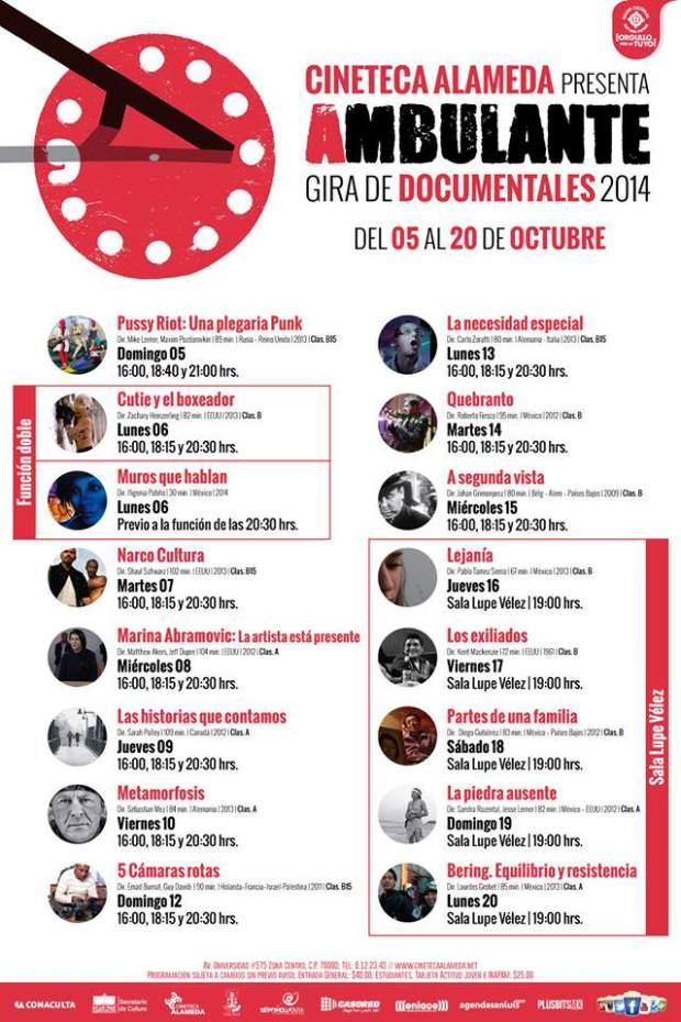 Cine Ambulante 2014 @ Cineteca Alameda | San Luis Potosí | San Luis Potosí | México