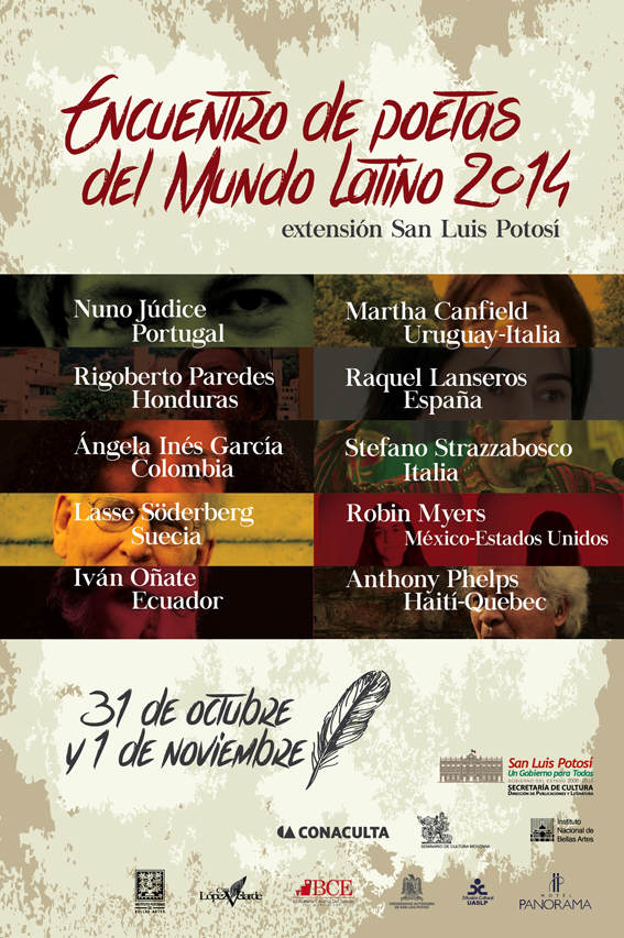 Encuentro de Poetas del Mundo Latino 2014 @ San Luis Potosí  | San Luis Potosí | San Luis Potosí | México