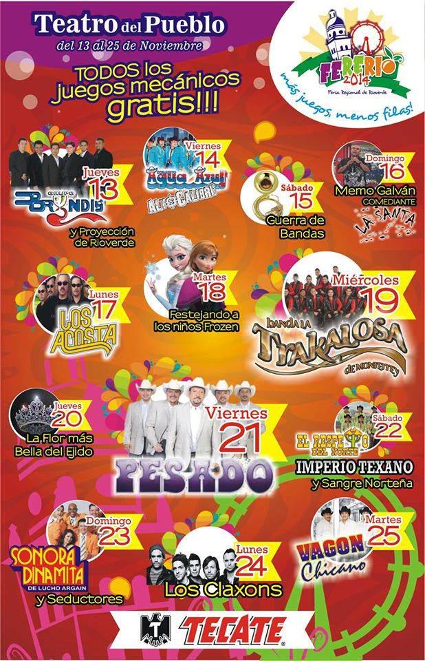 FERERIO 2014 teatro del pueblo