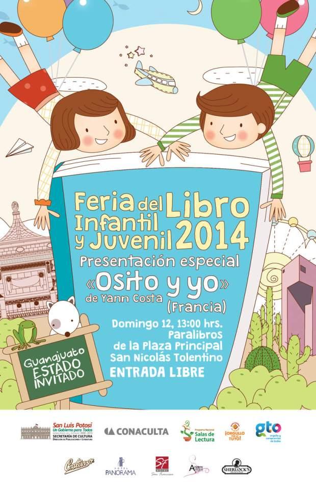 Feria del Libro infantil y juvenil 2014 @ Plaza de los Fundadores | San Luis Potosí | San Luis Potosí | México