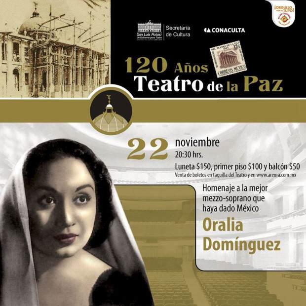 Homenaje Oralia DOmínguez
