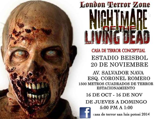 London Teror Zone SLP