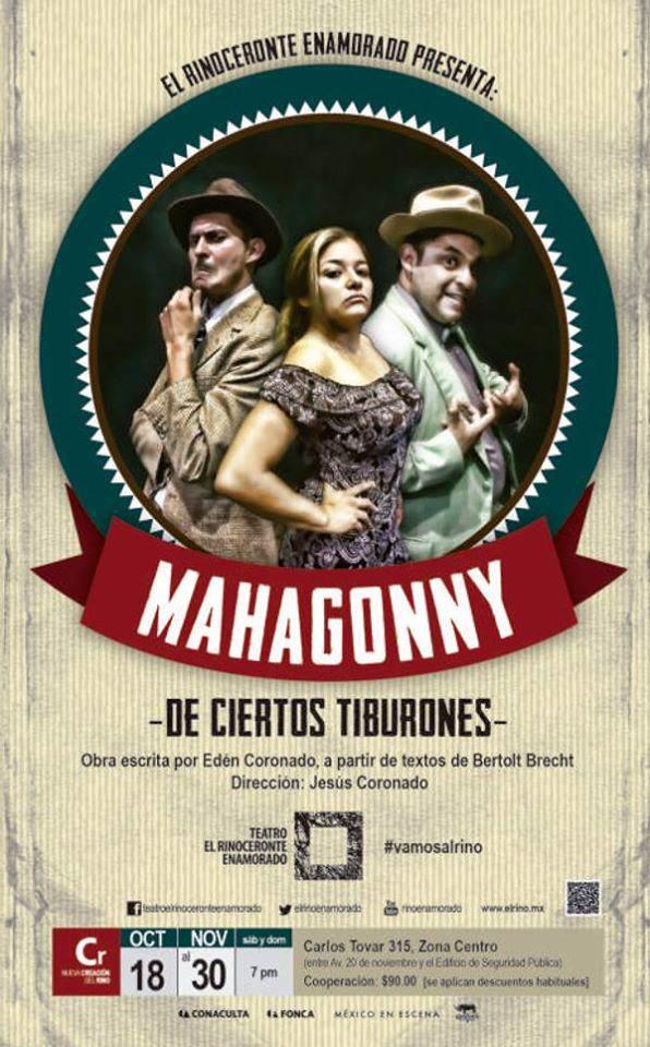Mahagonny @ Teatro el Rinoceronte Enamorado   San Luis Potosí   San Luis Potosí   México