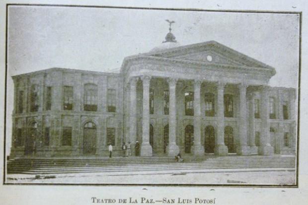 Teatro de la Paz antigua