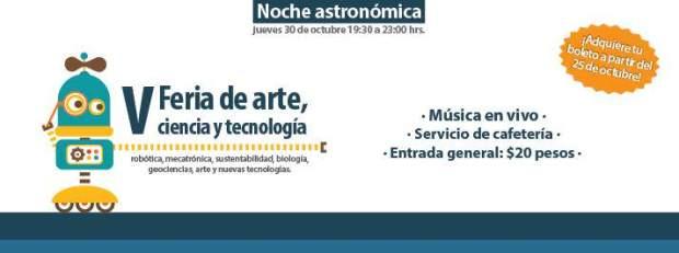 V Feria de arte, ciencia y tecnología