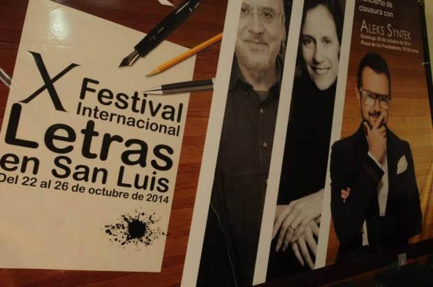 X Festival Internacional de Letras  presentación