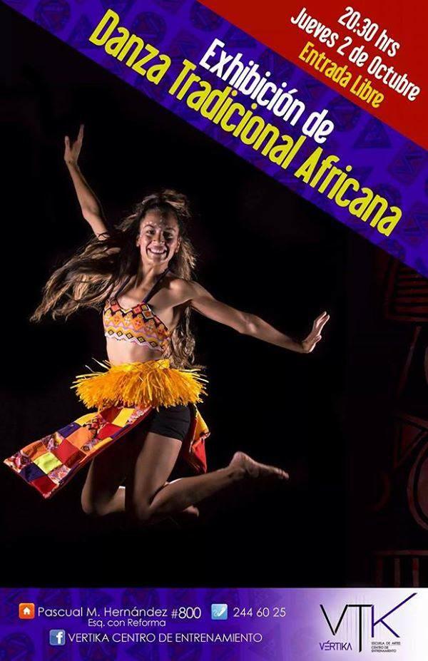 exhibicion danza africana