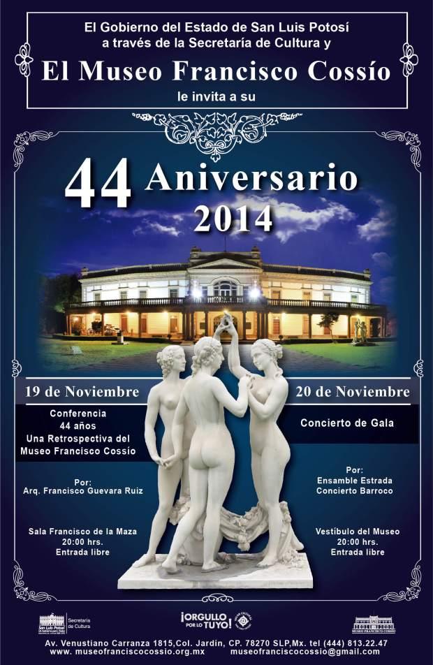 44 Aniversario Museo Francisco Cossío