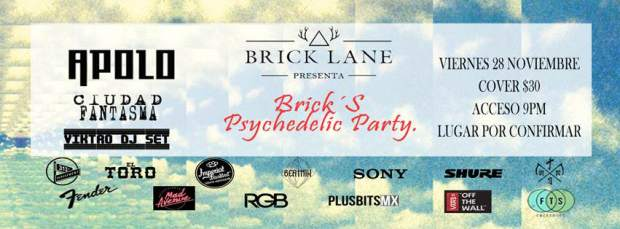 Brick's Prychedelic Party