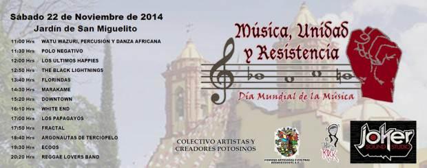 Música Uniad y Resistencia