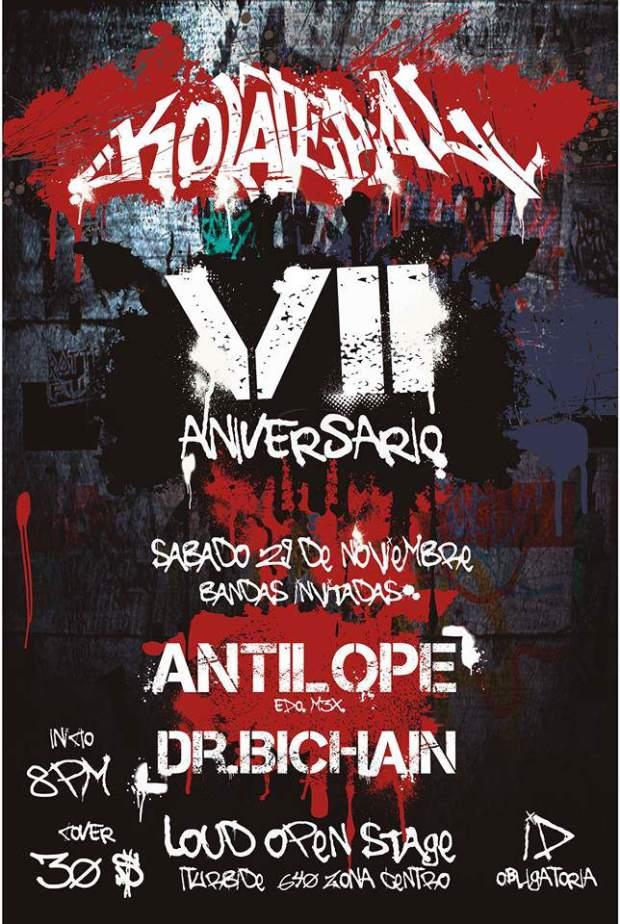 VII Aniversario de Kolateral @ Loud Open Stage | San Luis Potosí | San Luis Potosí | México