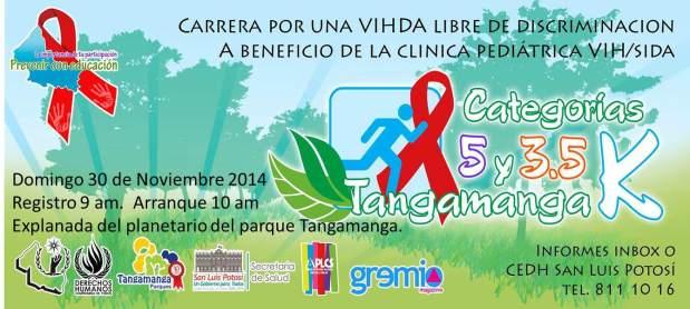 Carrera por una VIHDA libre de discriminación  @ Parque Tangamanga   Salamanca   Guanajuato   México