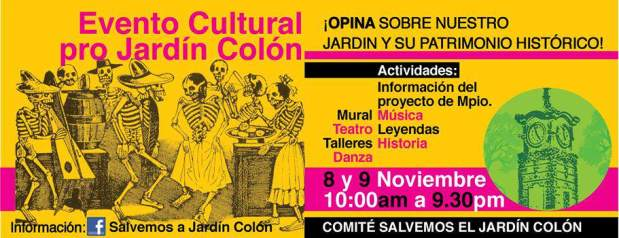 Evento Cultural Pro Jardín Colón @ Jardín Colón | San Luis Potosí | San Luis Potosí | México