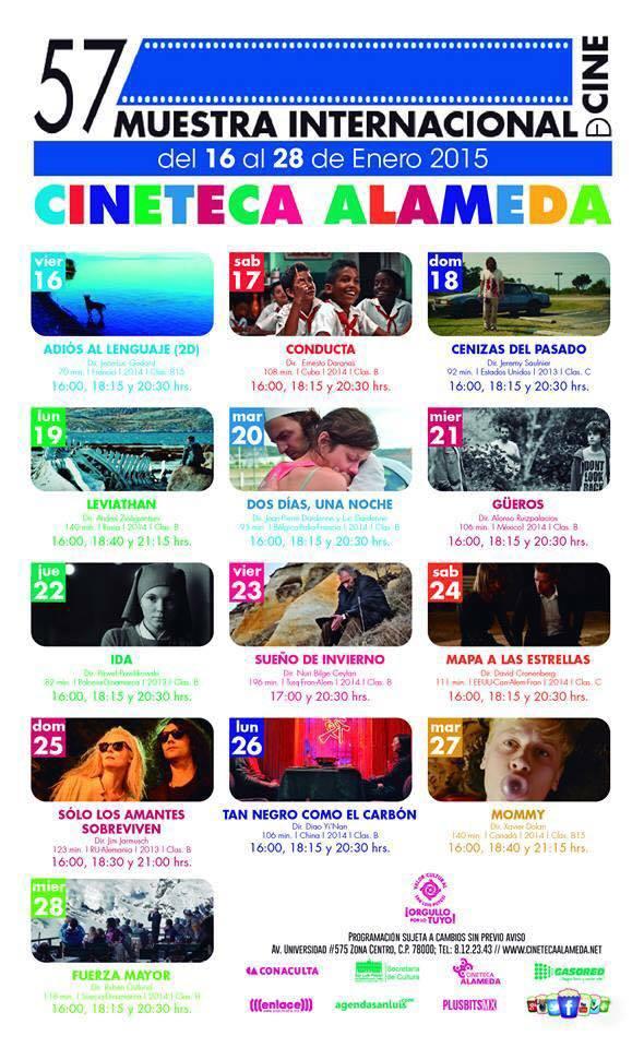 57 Muestra Internacional de Cine @ Cineteca Alameda