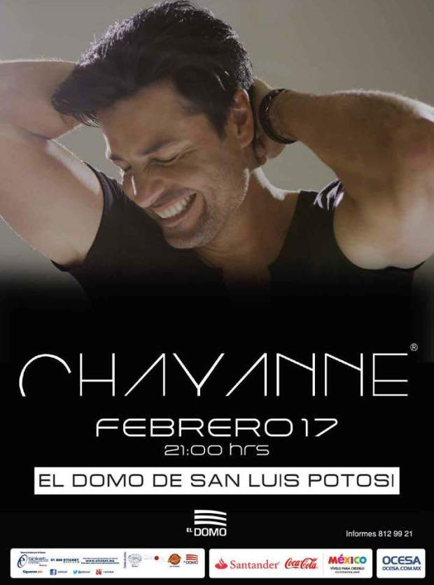 Chayanne en San Luis Potosí