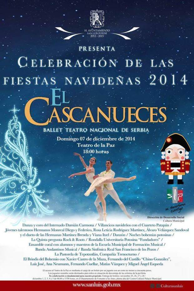El Cascanueces - Ballet Teatro Nacional de Serbia @ Teatro de la Paz | San Luis Potosí | San Luis Potosí | México