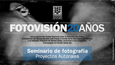 Photo of Convocatoria Fotovisión 20 años