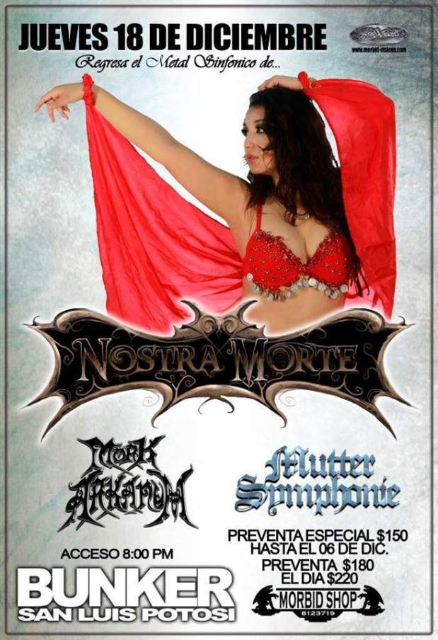 Nostra Morte @ Steel Metal Bunker