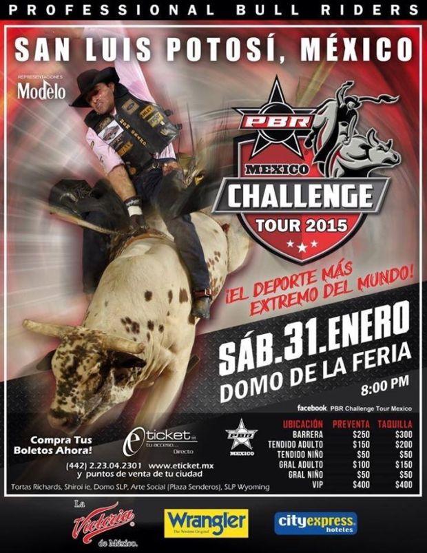 PBR en San Luis Potosí Tour 2015 @ El Domo