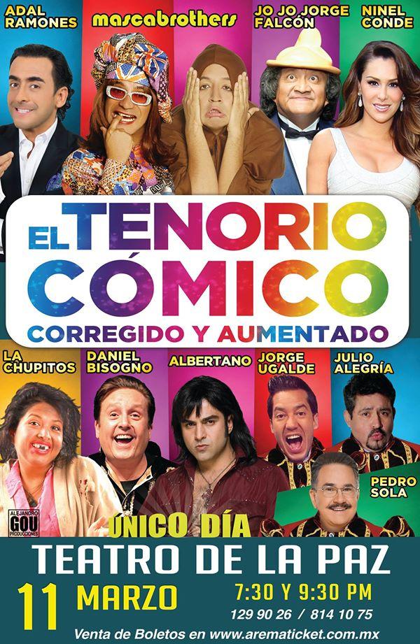 El Tenorio Cómico en San Luis Potosí @ Teatro de la Paz | San Luis Potosí | San Luis Potosí | México