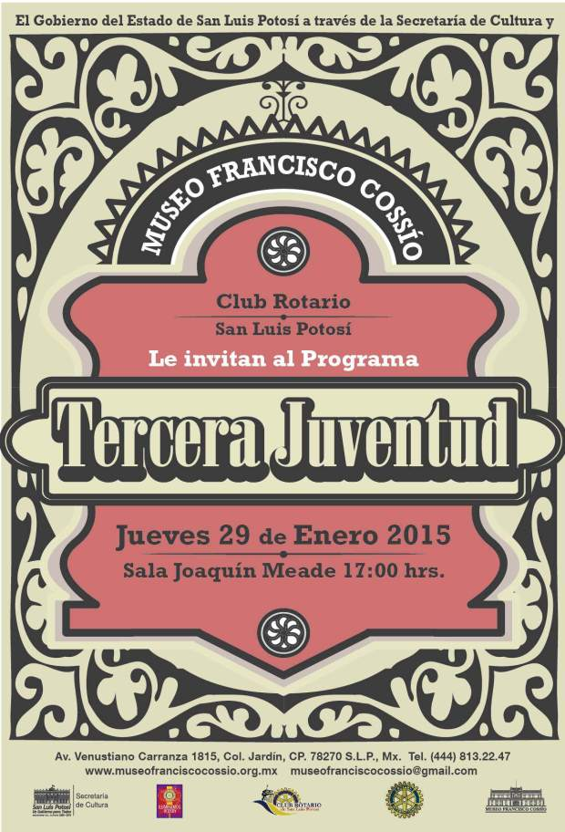 Tercera Juventud @ Museo Francisco Cossío