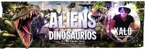 Aliens vs Dinosaurios @ Centro Histórico | San Luis Potosí | San Luis Potosí | México