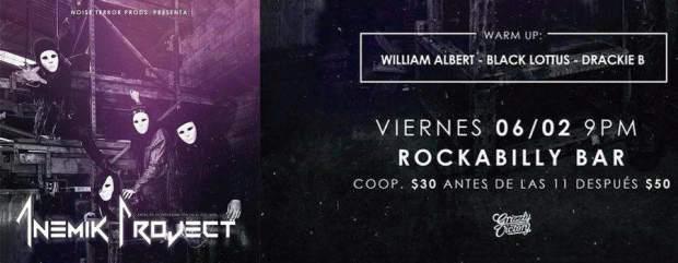 Anemik Project @ Rockabilly Bar | San Luis Potosí | San Luis Potosí | México