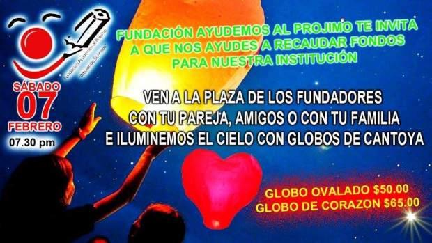 Globos de Cantoya por Fundación Ayudemos al Prójimo @ Plaza de los Fundadores | San Luis Potosí | San Luis Potosí | México