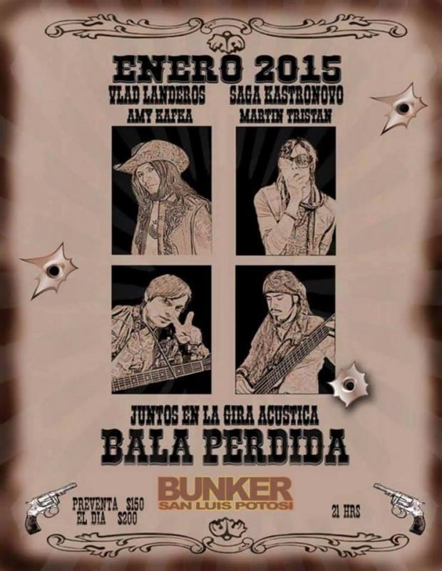 Bala Perdida @ Steel Metal Bunker