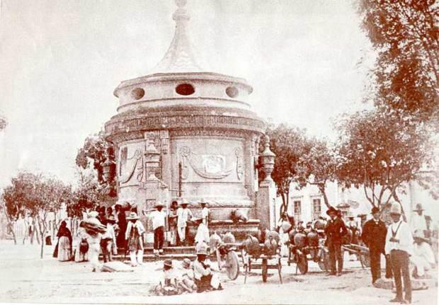 Caja del Agua foto antigua