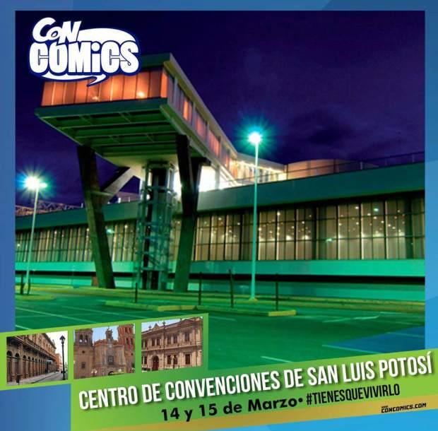 ConComics San Luis Potosí 2015 @ Centro de Convenciones en San Luis Potosí  | San Luis Potosí | San Luis Potosí | México